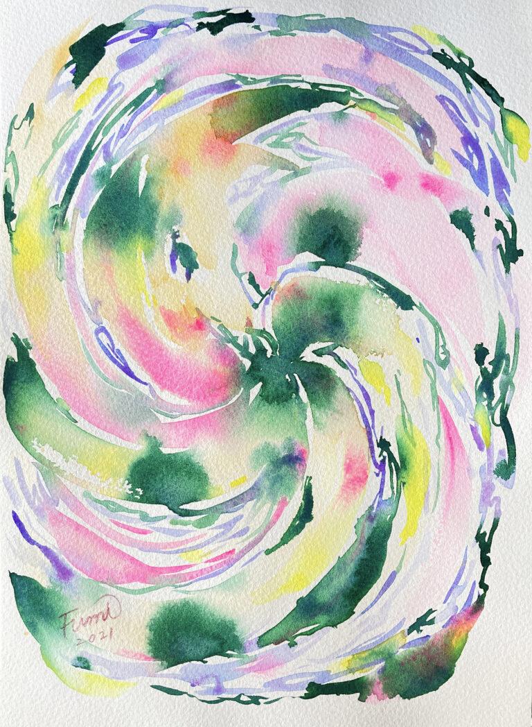 エネルギーアート 開花