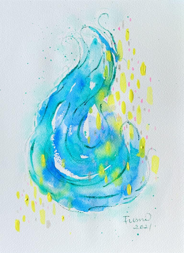 エネルギーアート 内なる希望