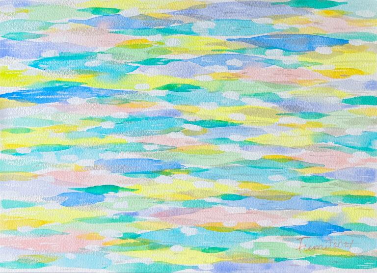 エネルギーアート 彩雲