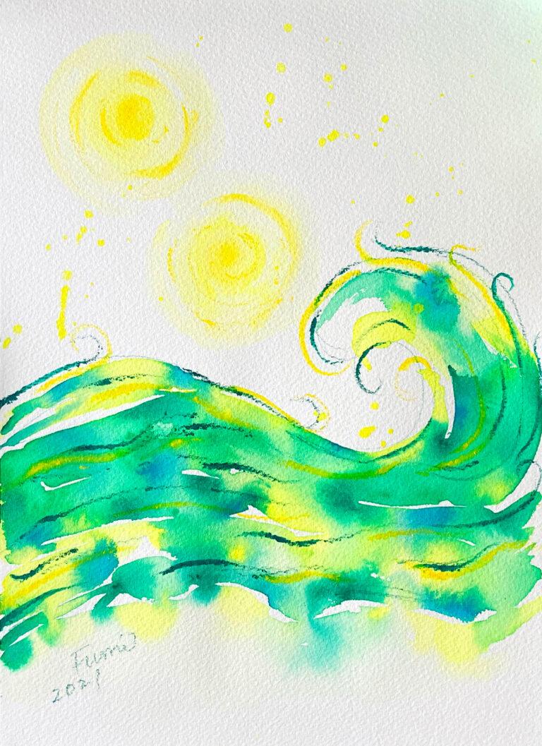エネルギーアート 芽吹き
